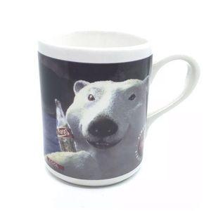 Coca Cola Polar Bear Mugs Alway Cool 2 ct